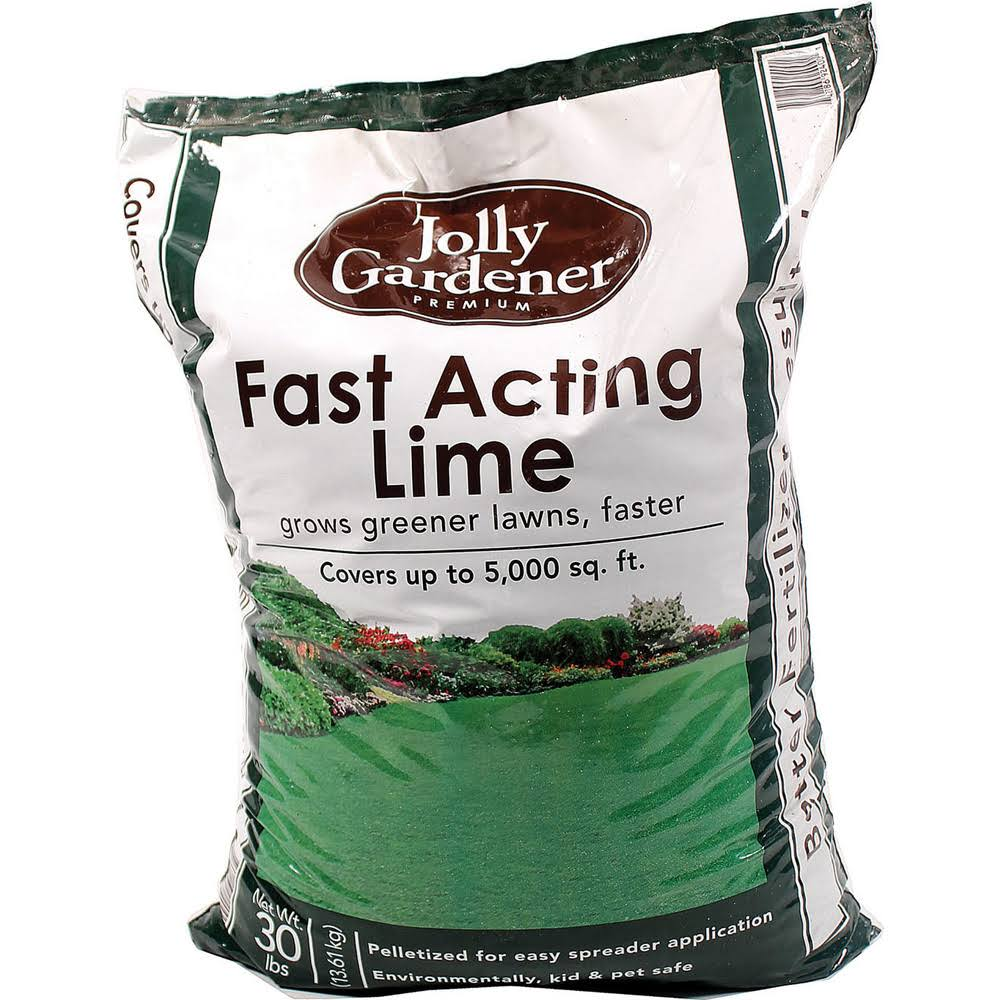 Jolly Gardner Fast Acting Lime - 30lbs
