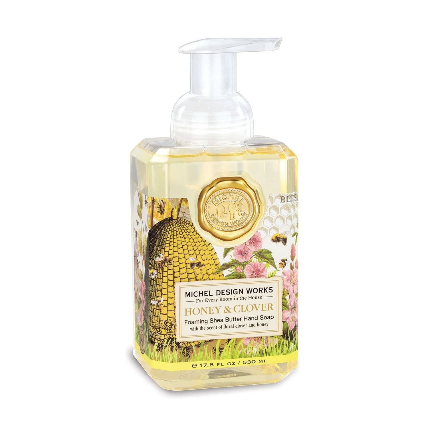 Michel Design Works Honey Clover Foaming Hand Soap | zillymonkey