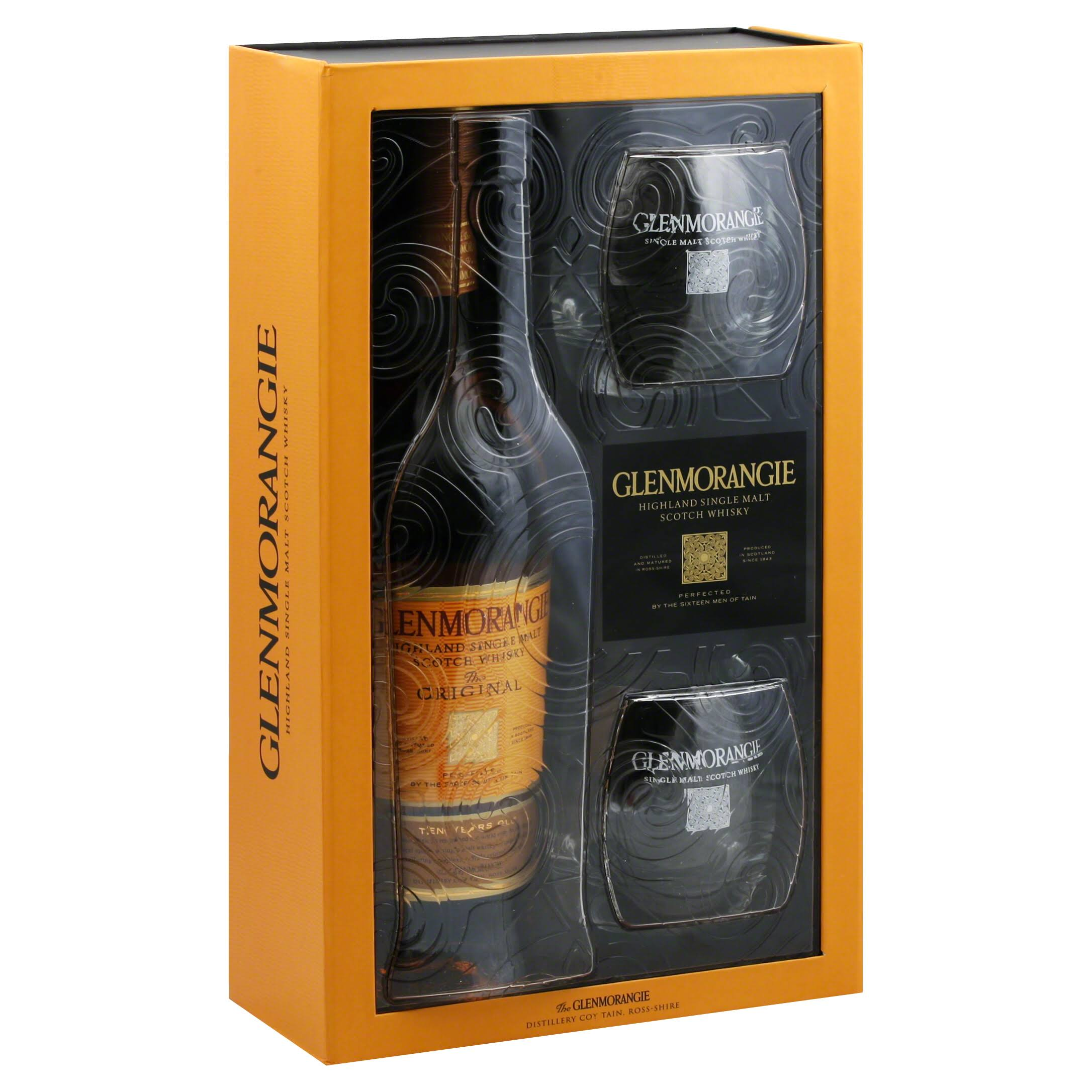 Glenmorangie Whisky Highland Single Malt Scotch - 1l