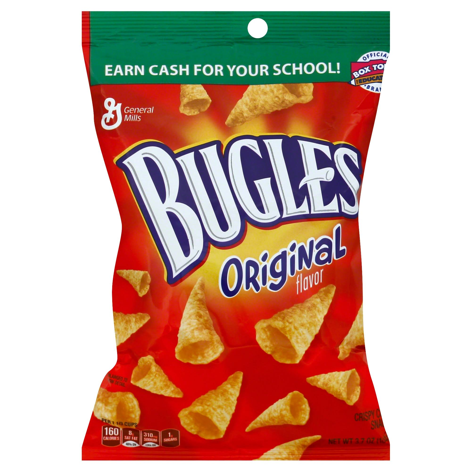 Bugles Original Flavor Crispy Corn Snacks - 3.7oz