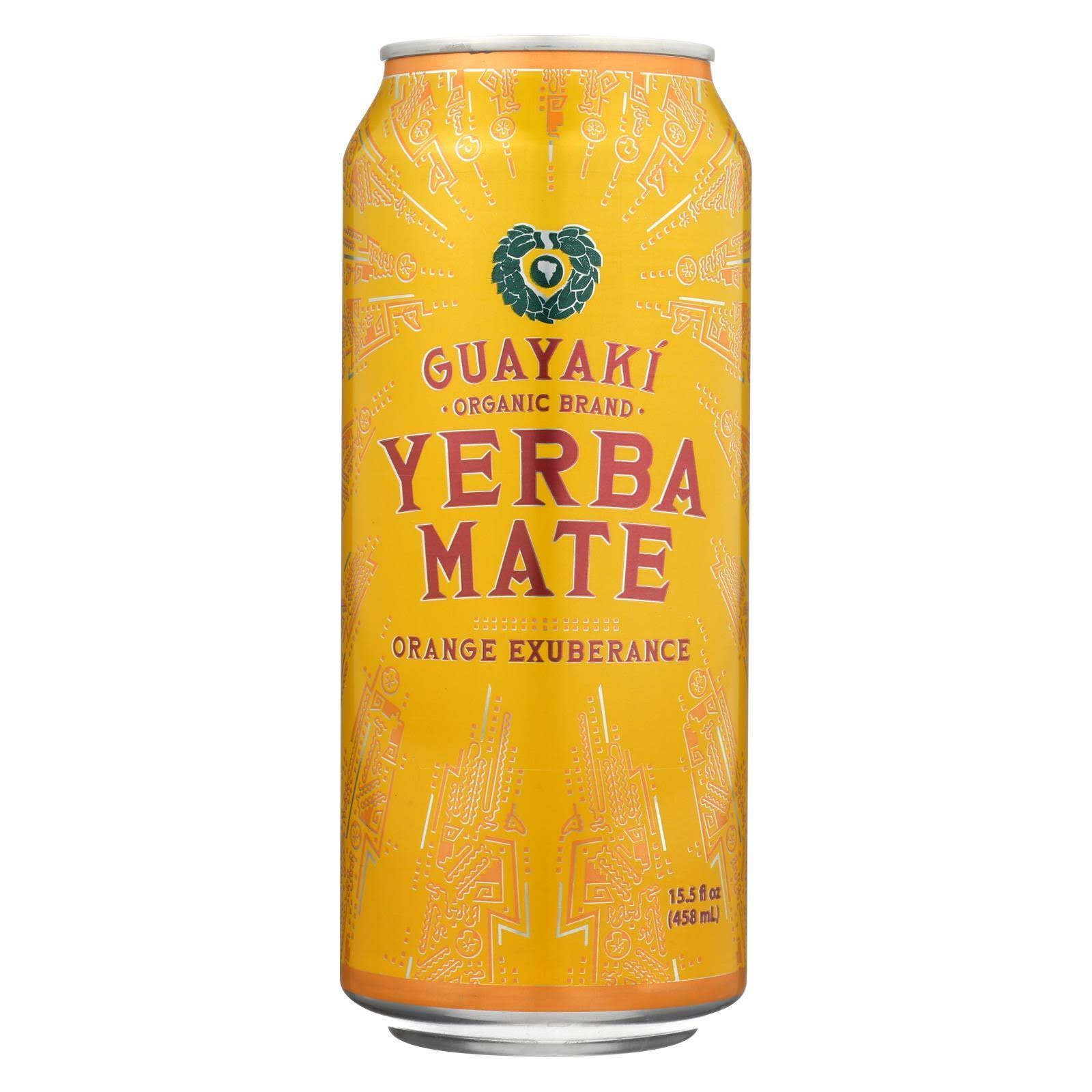 Guayaki Organic Yerba Mate - Orange Exuberance, 15.5oz