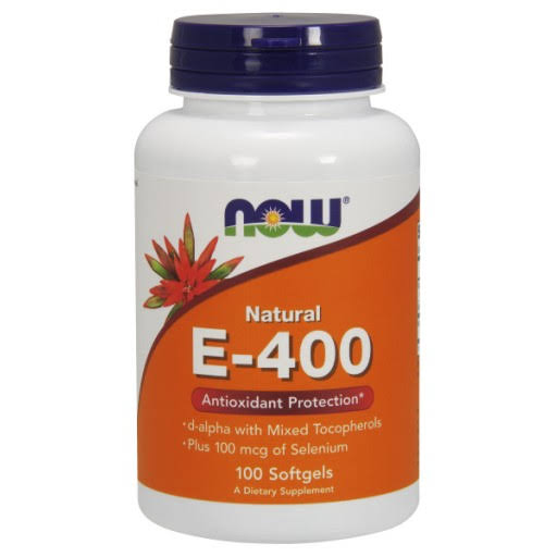 Now Vitamin E-400 Dietary Supplement - 100 Softgels