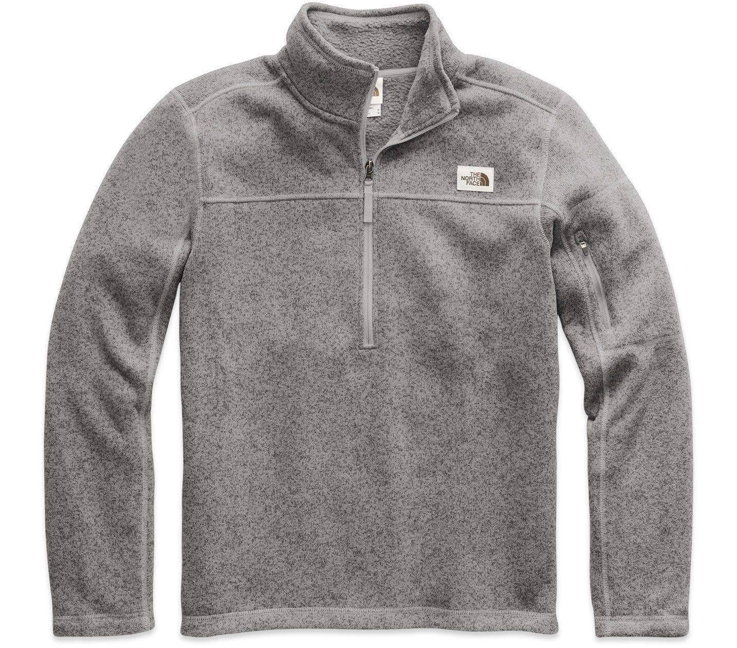 The North Face Men's Gordon Lyons 1/4 Zip TNF Medium Grey Heather XXL
