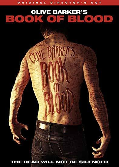 Clive Barker's Book of Blood DVD