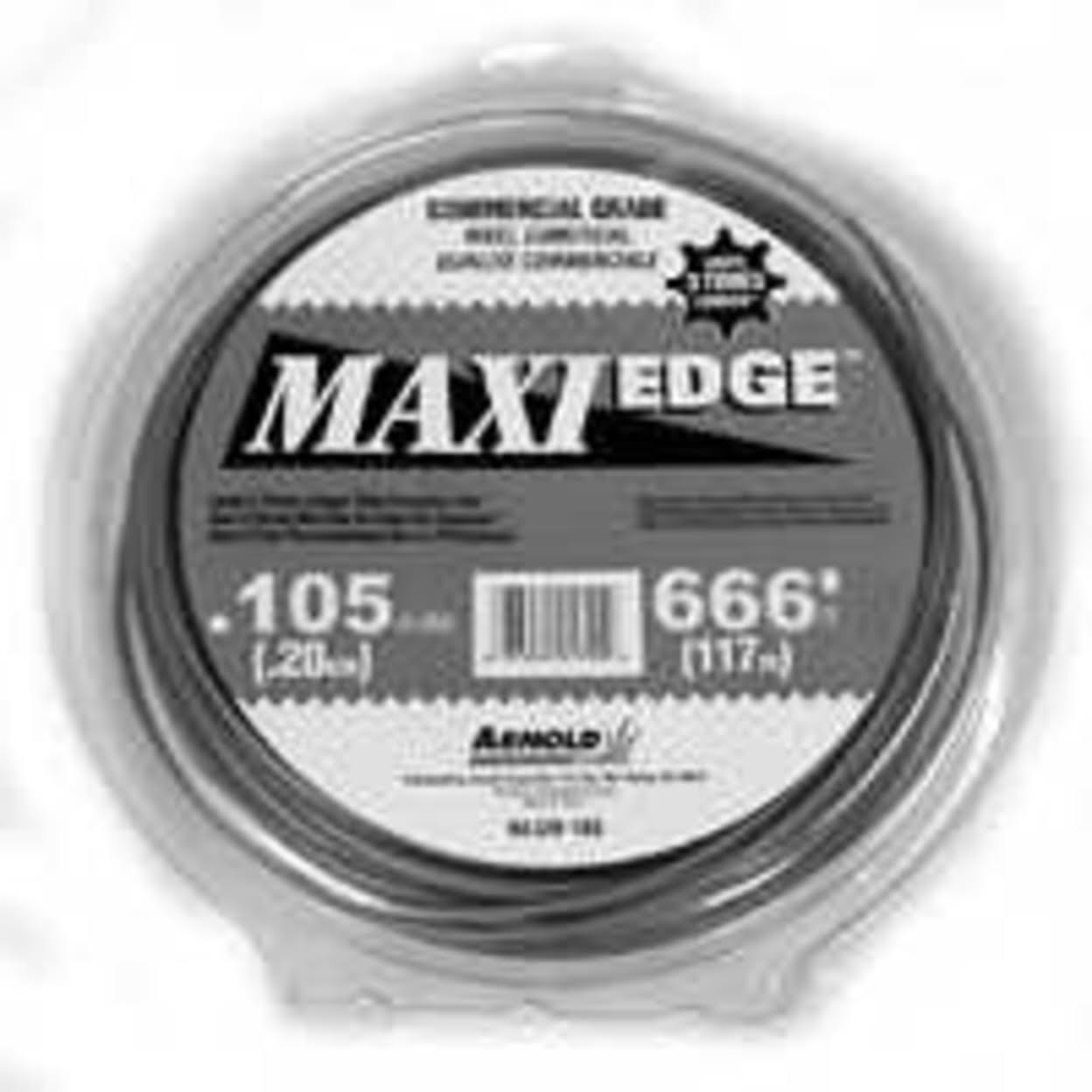"Arnold Maxi Edge WLM-3105 Trimmer Line Spool - 0.105"" Dia, Polymer"