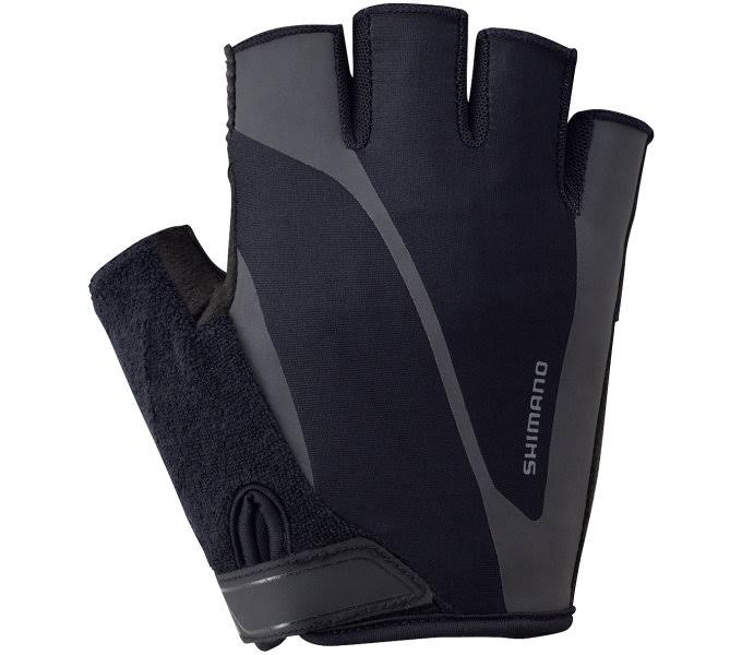Shimano Men's Classic Short Gloves - Black, Large