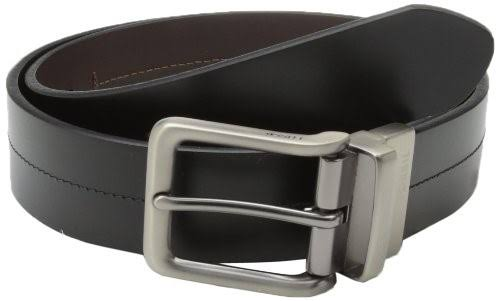 Fossil Men's Brandon Reversible Belt - Black, Size 36