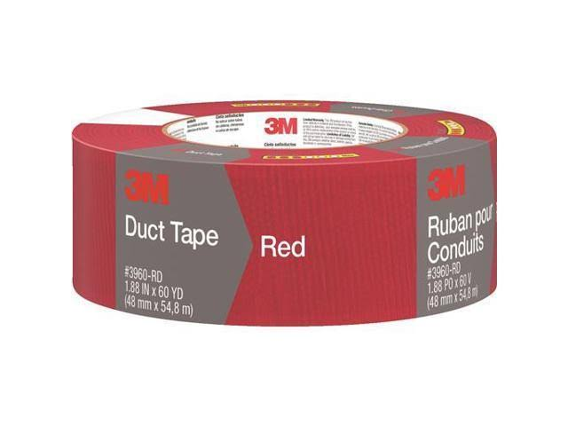 "Scotch Duct Tape - Red, 1.88"" x 60yds"
