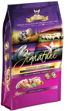 Zignature Small Bites Grain Free Zssential Formula Dry Dog Food - 13.5-lb