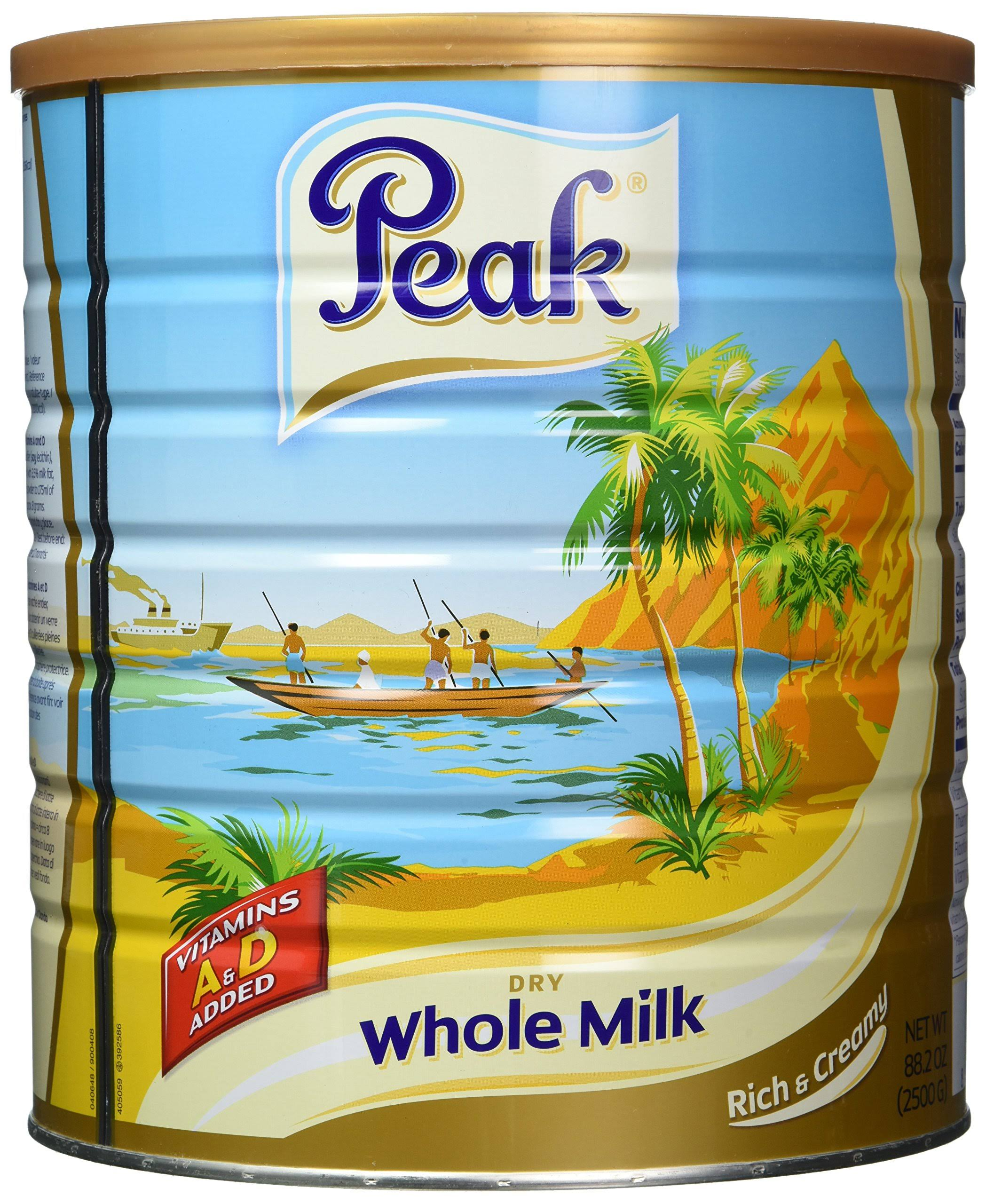 Peak Dry Whole Milk Powder - 2.5kg