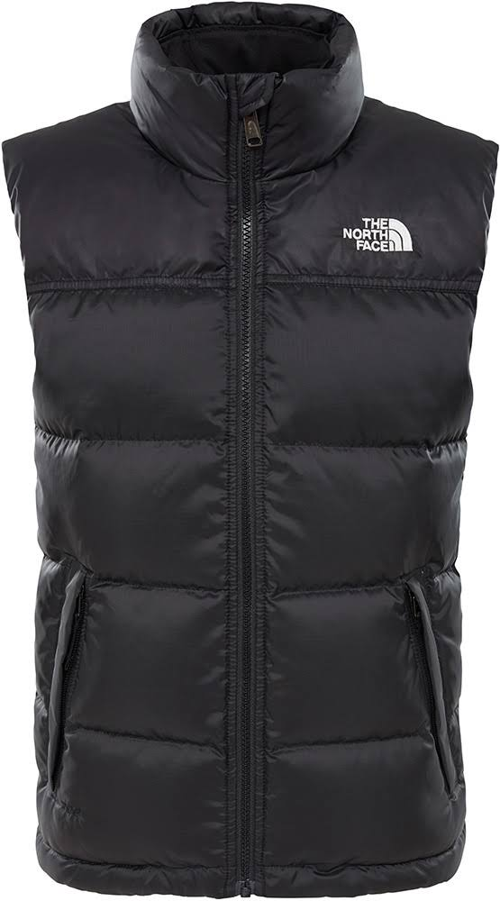The North Face Boys 'Nuptse' Down Gilet - Black