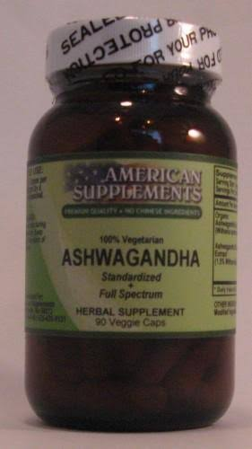 Ashwagandha American Supplements 90 vcaps