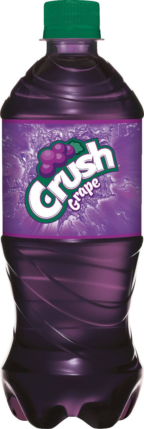 Crush Soda, Grape - 20 fl oz