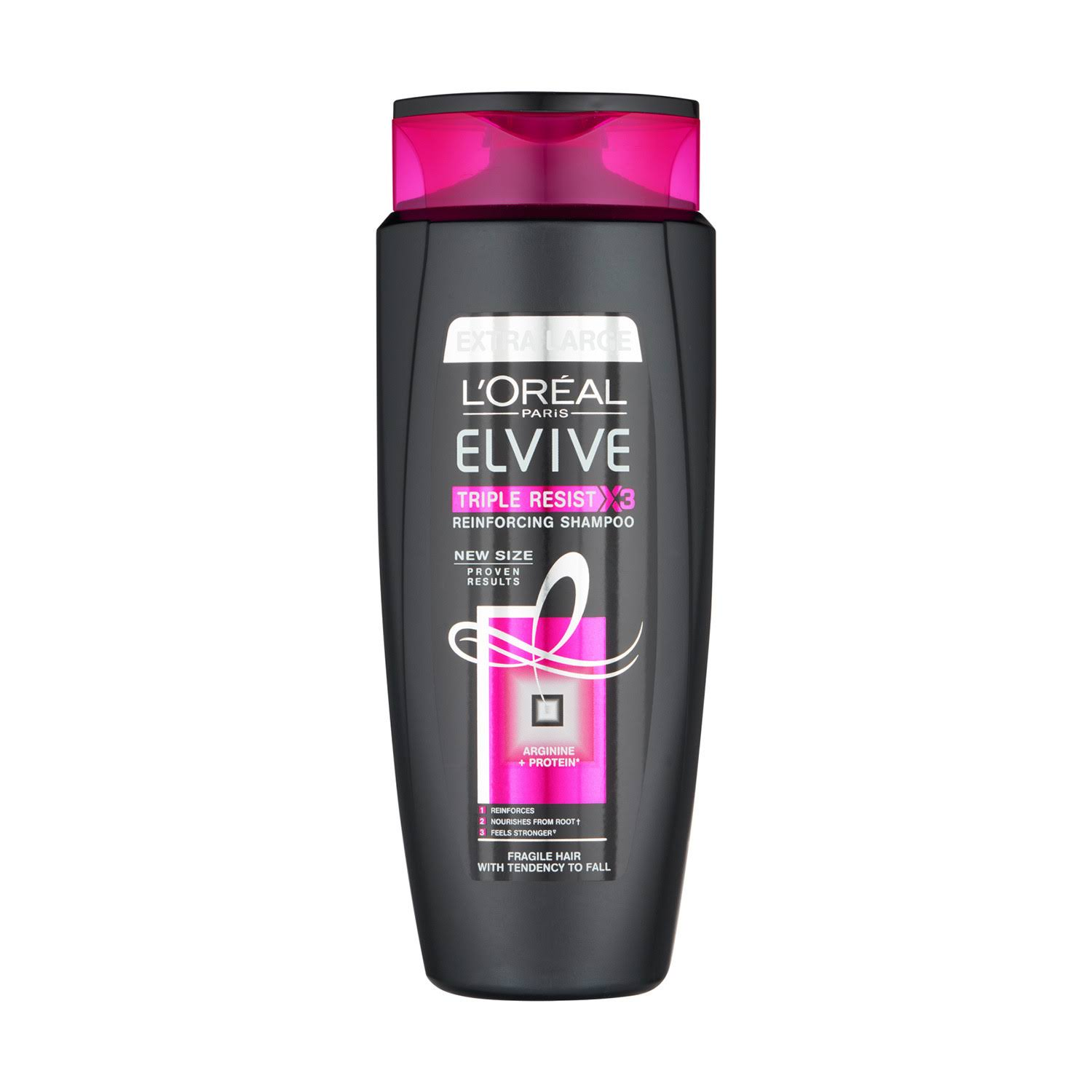 L'Oreal Elvive Triple Resist Shampoo 700ml