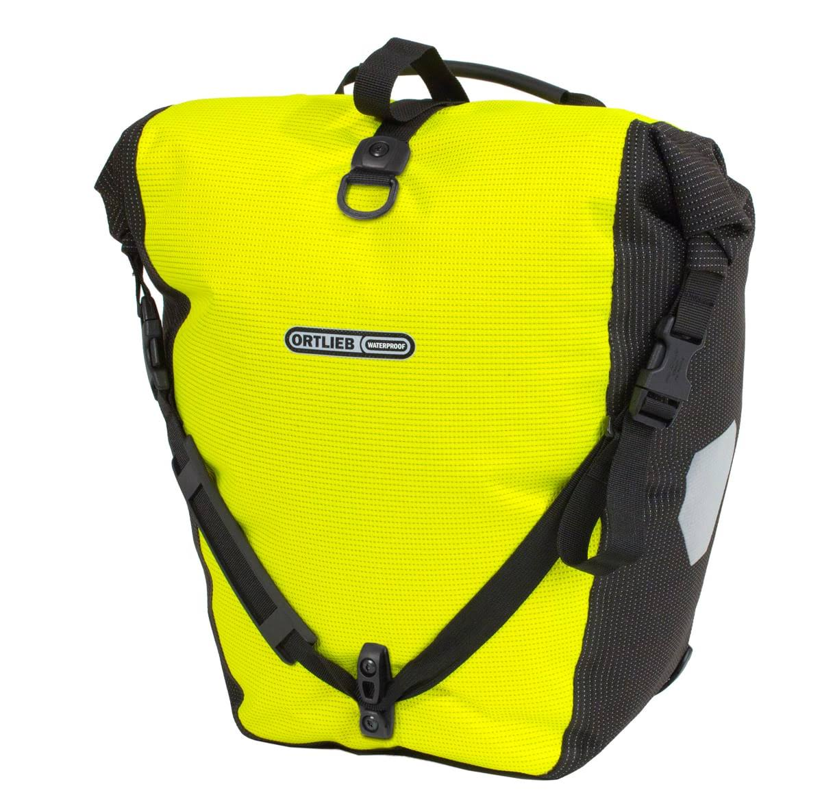 Ortlieb Back-Roller High-Visibility Pannier - Yellow & Black