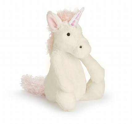 Jellycat Bashful Unicorn - Small, 7 in