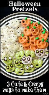 List 3 Other Names For Halloween by Best 25 Halloween Pretzels Ideas On Pinterest Halloween Snacks