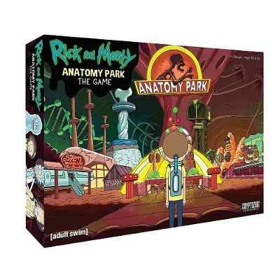 Cryptozoic Entertainment Rick & Morty Anatomy Park