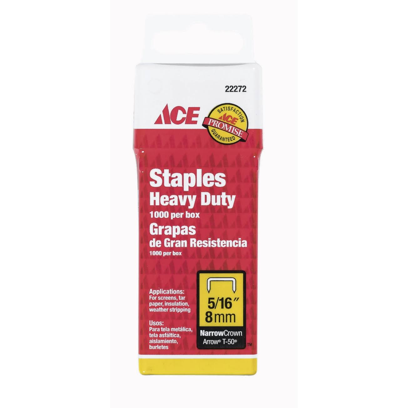 Ace Heavy Duty Staples - 6mm, x1000
