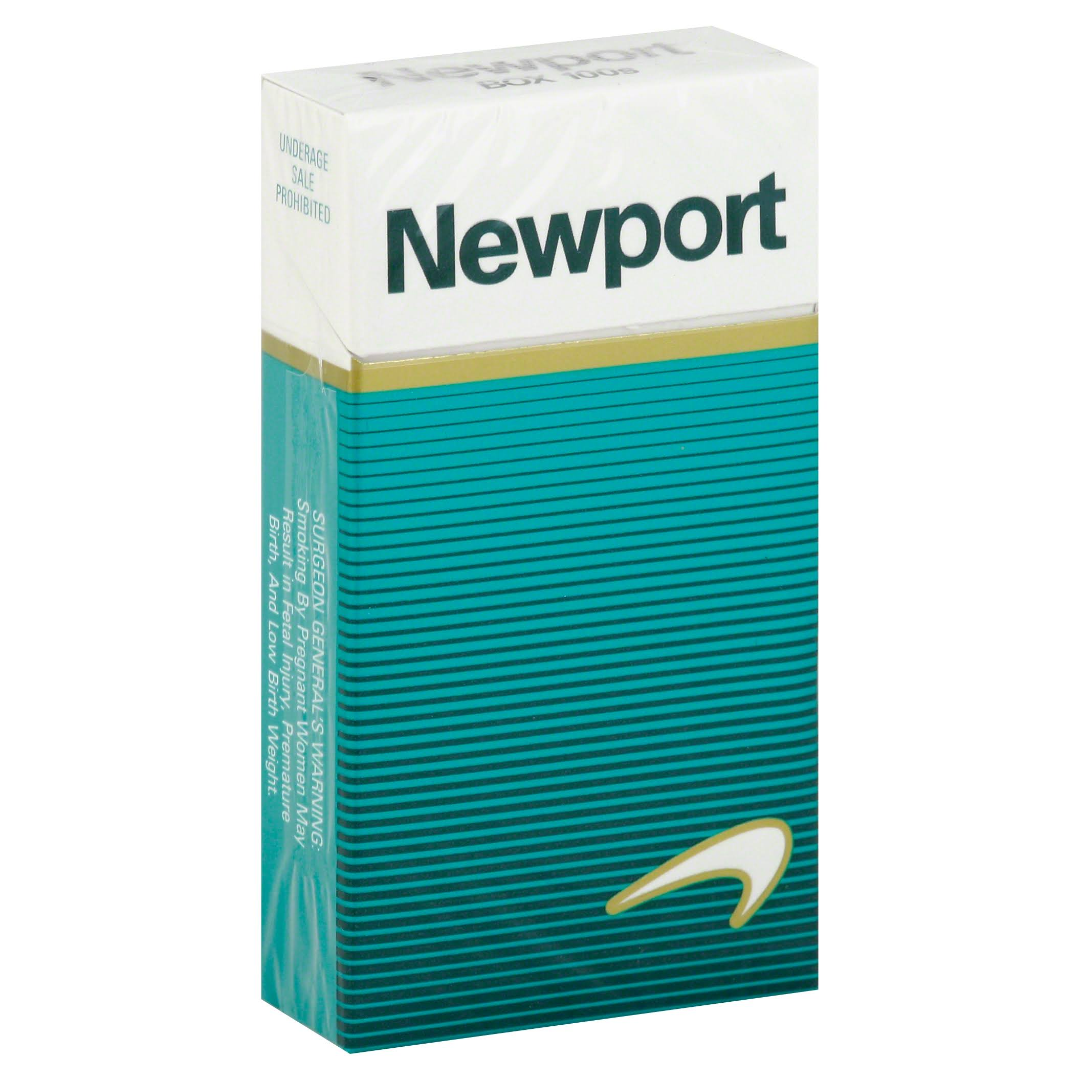 Newport Cigarettes, 100s, Box - 20 cigarettes