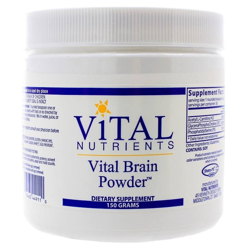 Vital Nutrients Vital Brain Powder - 150 Grams