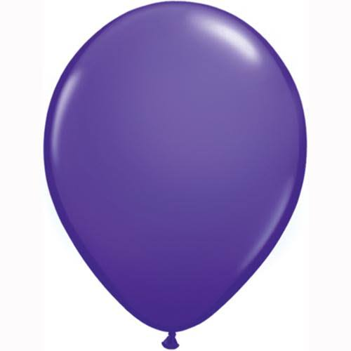 Mayflower Latex Balloons - Purple Violet, 11in, 100pcs