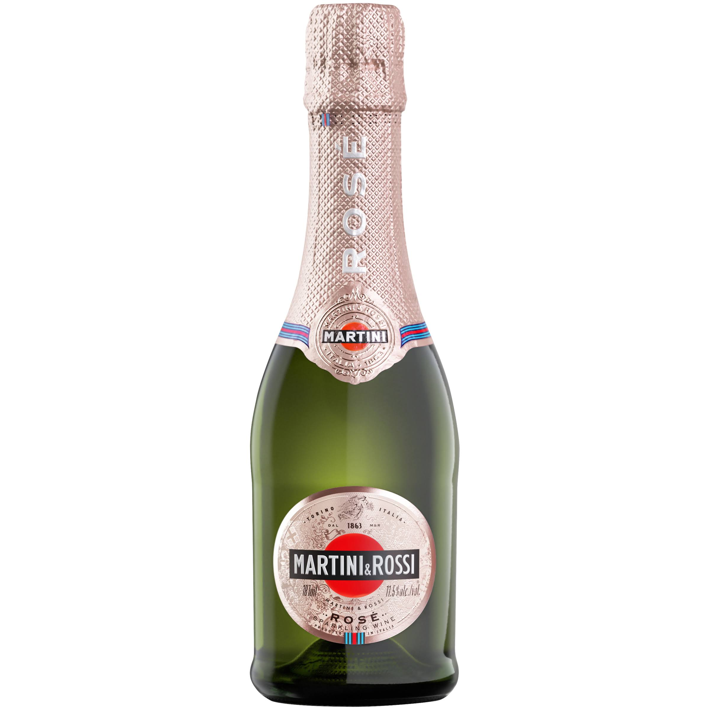 Martini & Rossi Rose Sparkling Wine 187ml