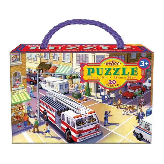 eeBoo Fire Truck Puzzle for Kids 20