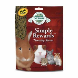 Oxbow Simple Rewards All Natural Hay Small Animals Treat - Timothy Grass, 0.5oz