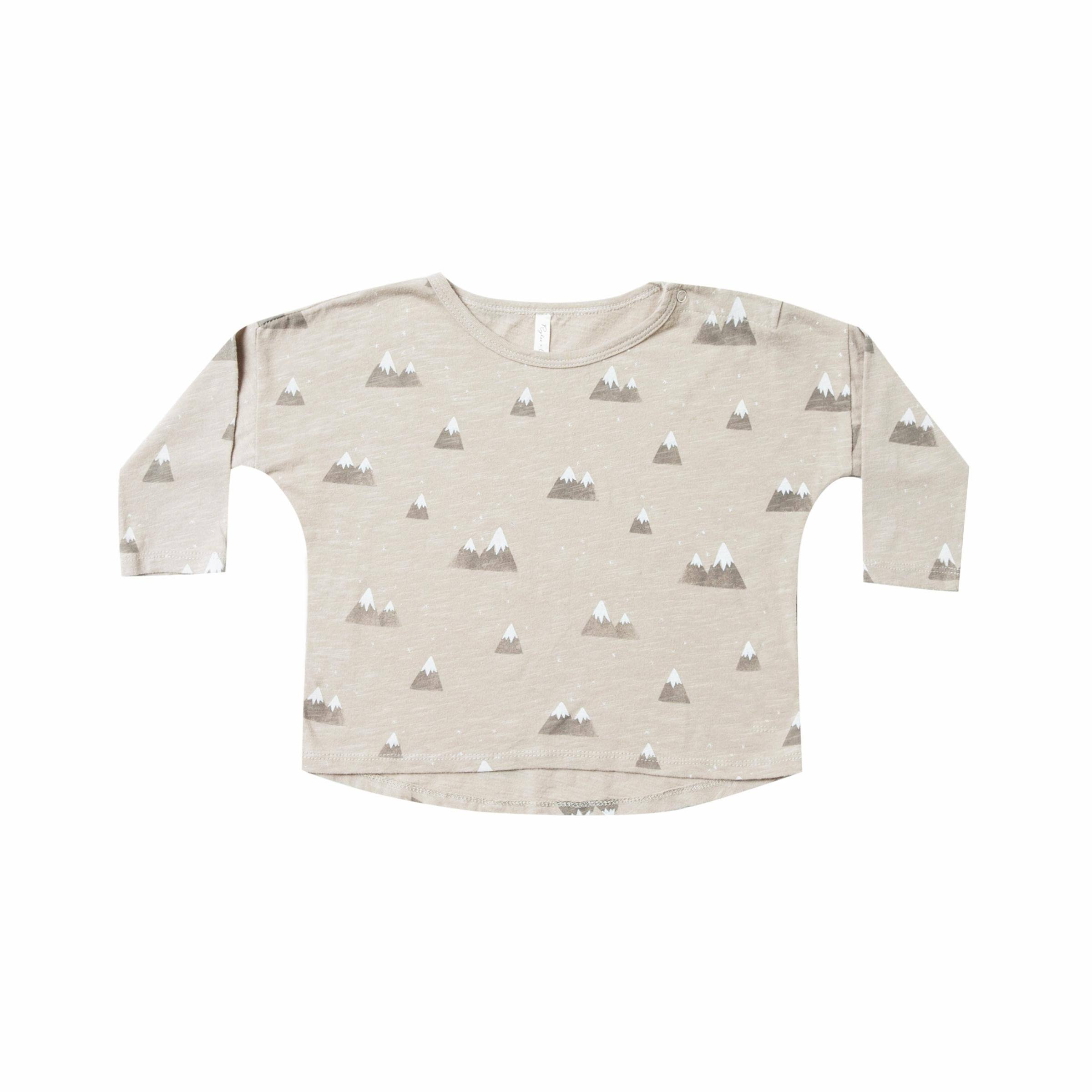 Rylee & Cru Baby Boy Mountains Long Sleeve Tee