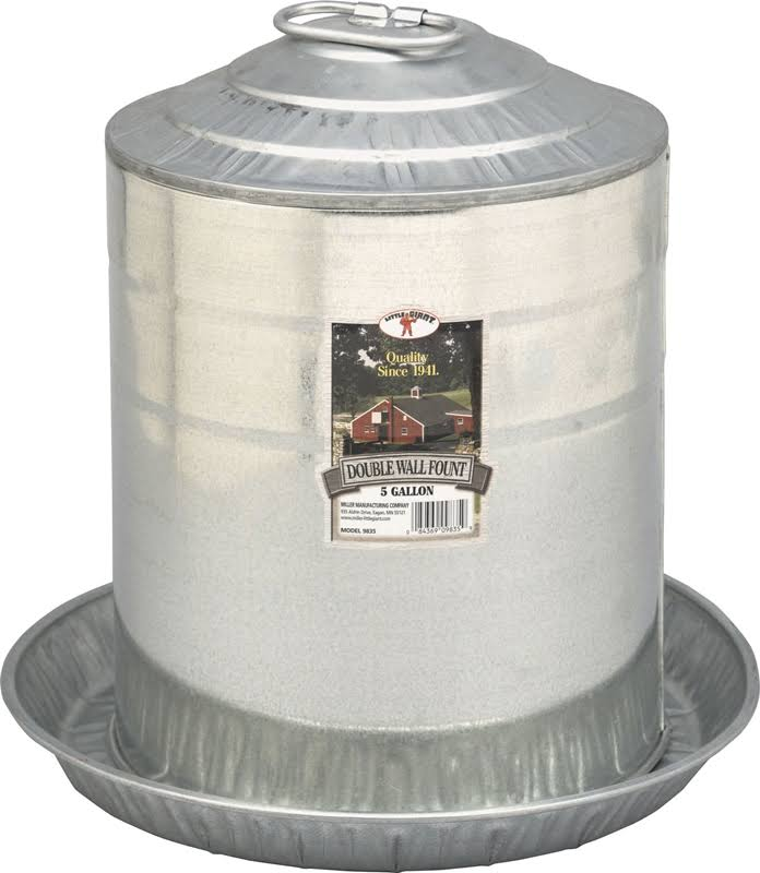 Little Giant Double Wall Fount - 5gal