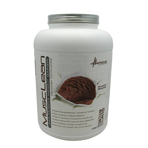 Metabolic Nutrition Musclean Powder - Chocolate Milkshake, 5 Lbs
