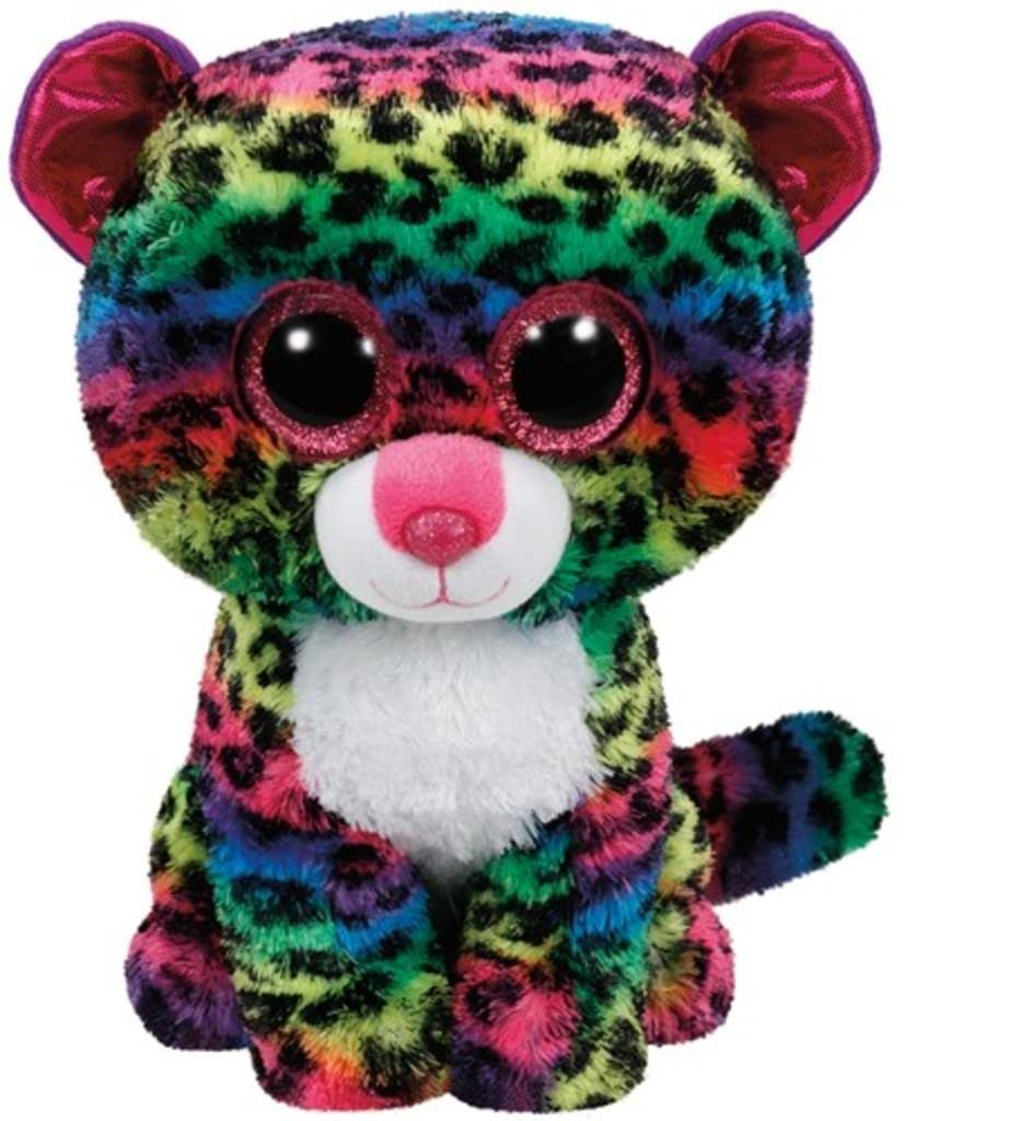TY Beanie Boos Buddy - Dotty The Leopard, 24cm
