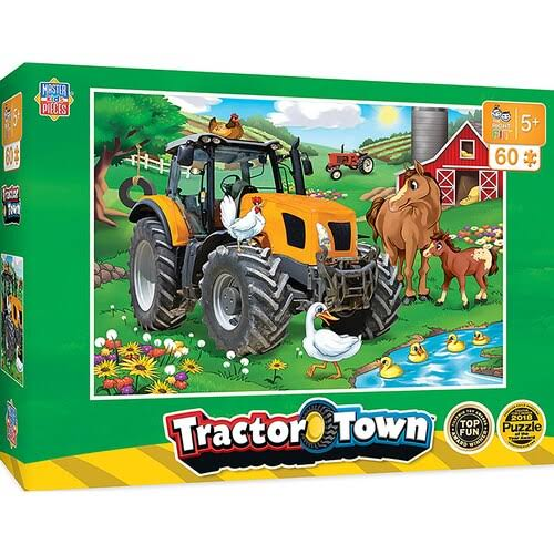 Tractor Town - Farmer Miller's Pond 60pc Puzzle