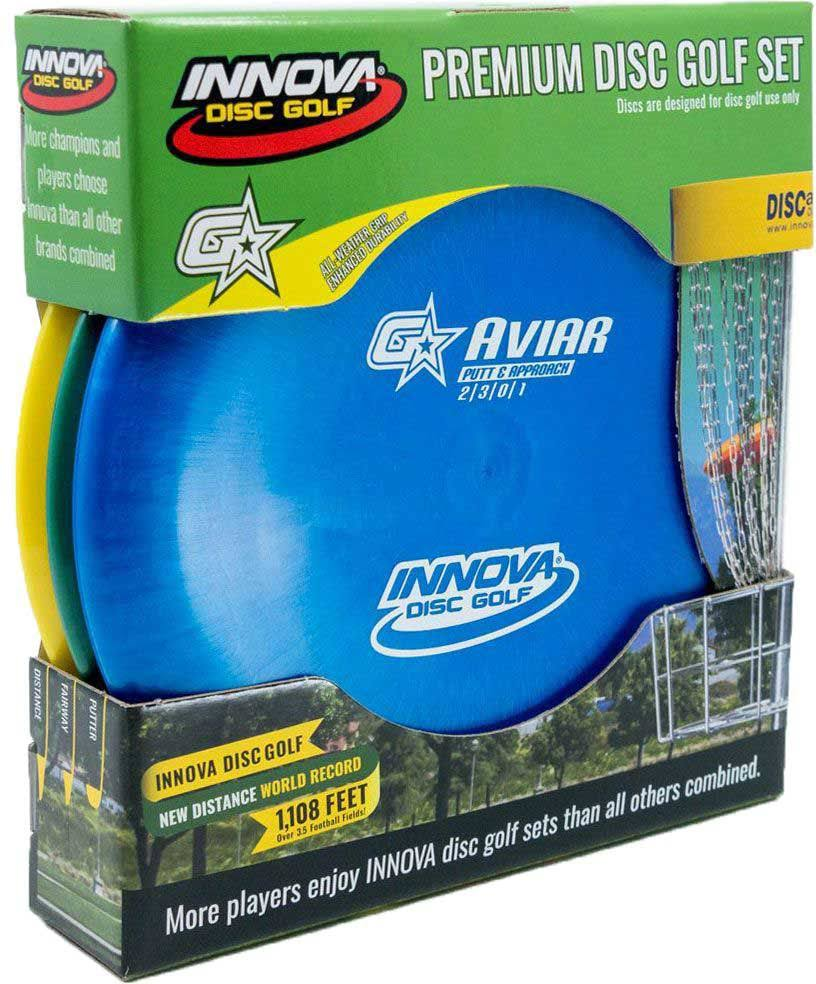 Innova Disc Golf Gstar 3-Disc Set