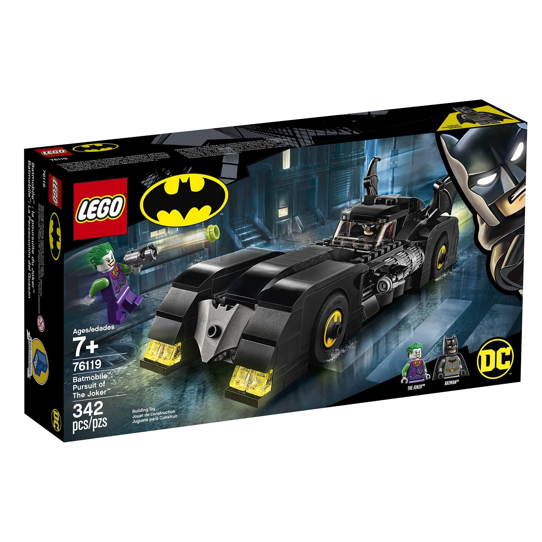 Lego 76119 DC Super Heroes Batmobile : Pursuit of The Joker