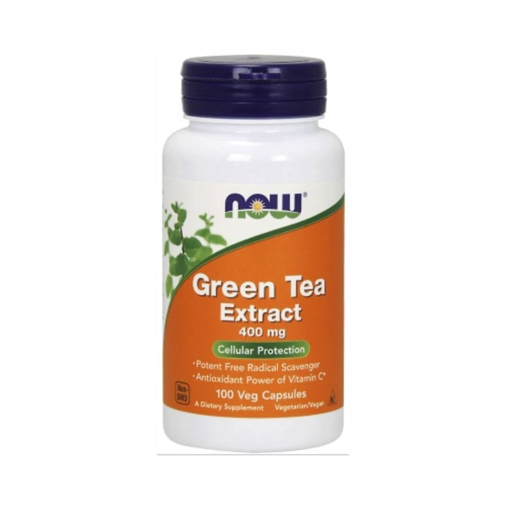 Now Green Tea Extract 400 Mg - 100 Capsules