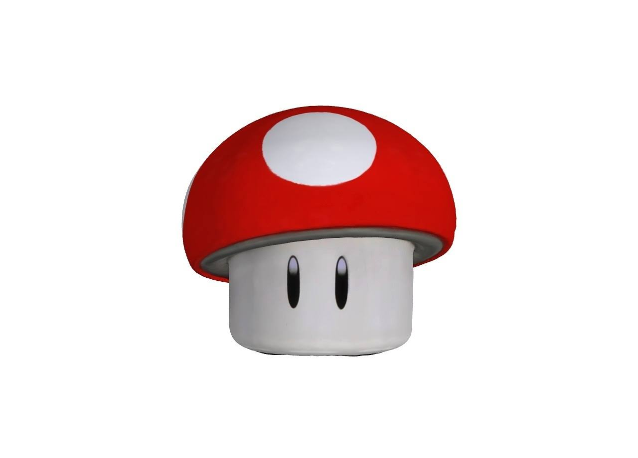 Super Mario Brothers Sour Candy Mushroom Tin