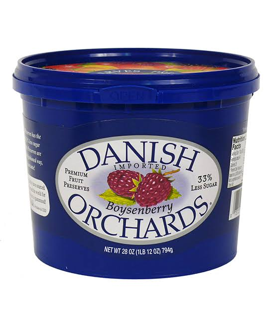 Danish Orchards Premium Boysenberry Fruit Preserves - 28oz