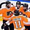 Flyers bounce back from late collapse for 4-3 OT win
