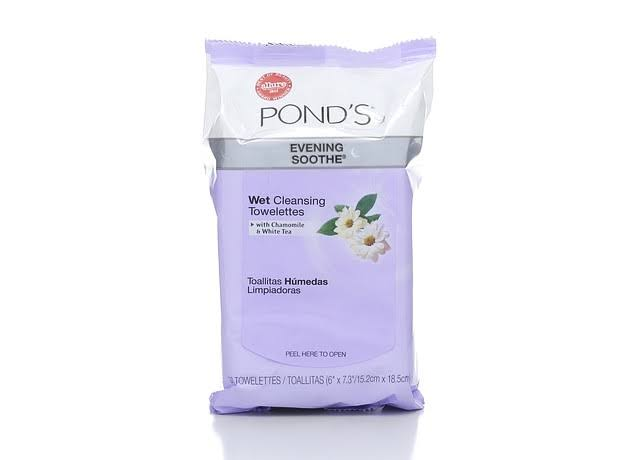 Pond's Wet Cleansing Towelettes - Evening Soothe, 30ct