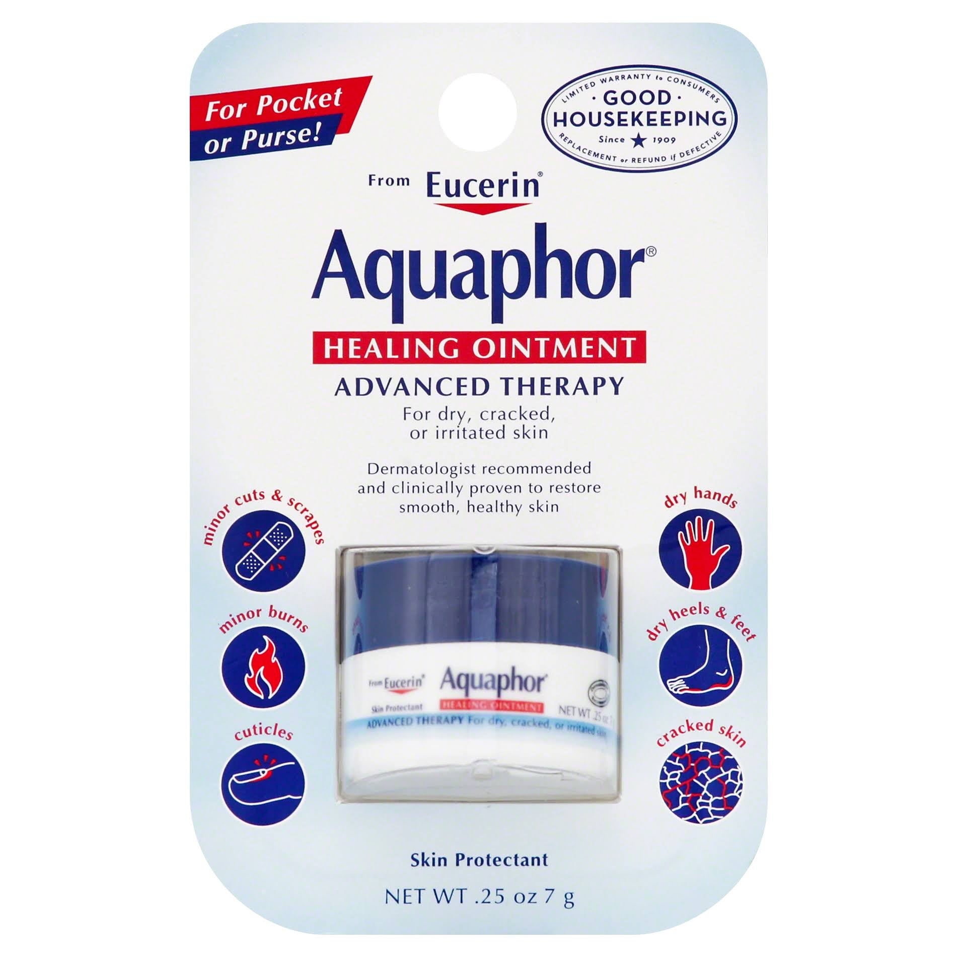 Aquaphor Advanced Therapy Healing Ointment Skin Protectant - 0.25oz