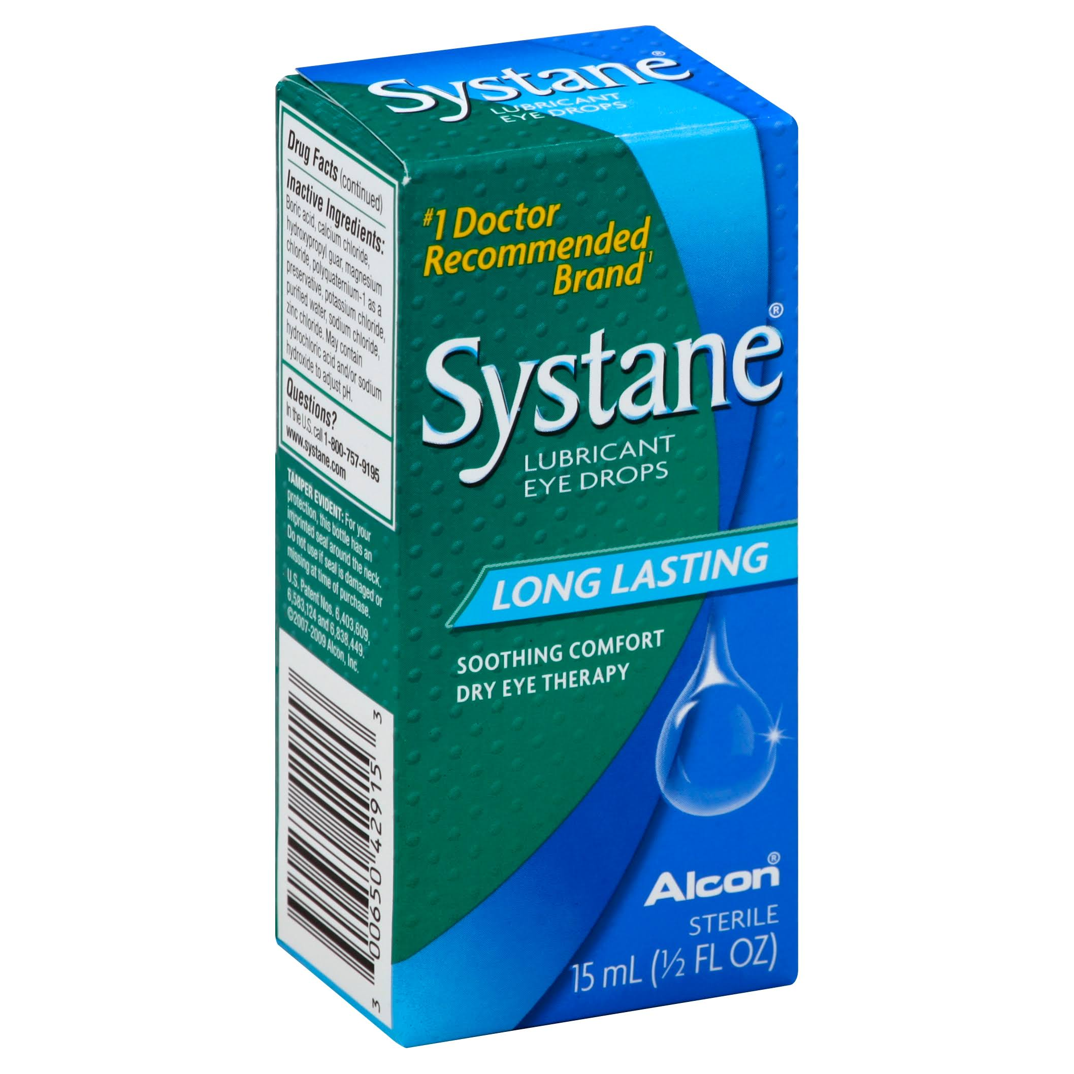 Alcon Systane Lubricant Eye Drops