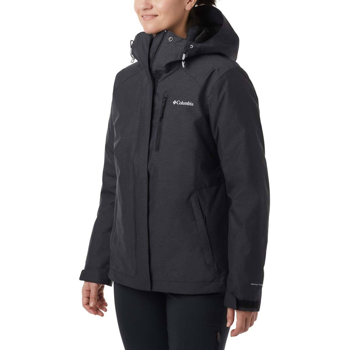 Columbia Whirlibird IV Interchange Jacket - Women's XS Black Crossdye