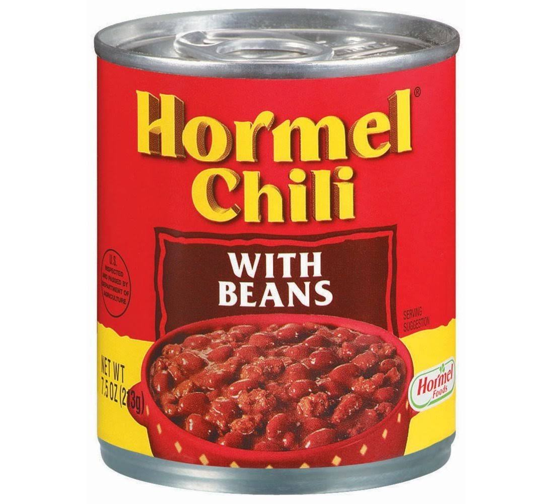Hormel Chili, with Beans, 7.5 oz