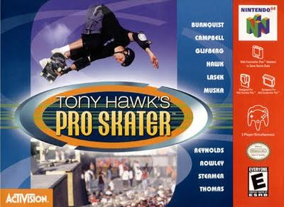 Tony Hawk's Pro Skater [64 Game]