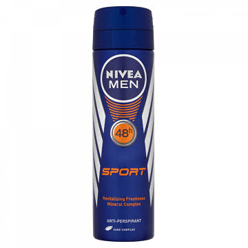 NIVEA Men's Sport Anti-Perspirant Deodorant Spray - 150ml