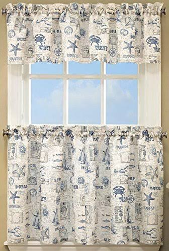 "Lorraine by The Sea, 60""W x 36""L Tier Pair Blue"