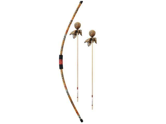 Two Bros Bows Safari Bow & 2 Cheetah Arrows