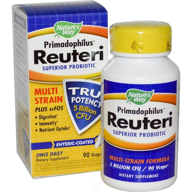 Nature's Way Primadophilus Reuteri Dietary Supplement - 90 Capsules